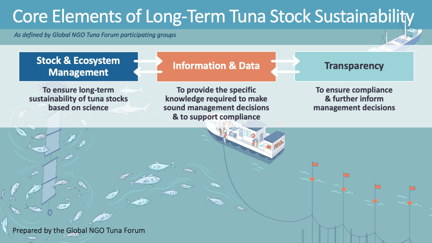 Core Elements of Long Term Tuna Stock Sustainability